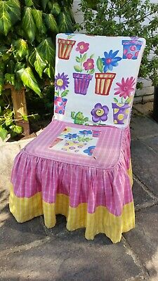 Designers Guild Fabrics Cover Childrens Bedroom Nursery Chair Parker Knoll Base  • 25£