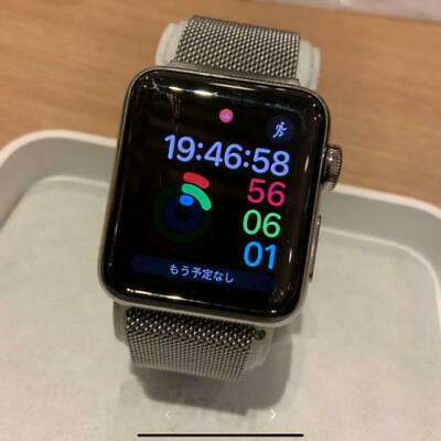 $ CDN313.84 • Buy Pure Authentic Apple Watch Series2 38Mm Silver Stainless