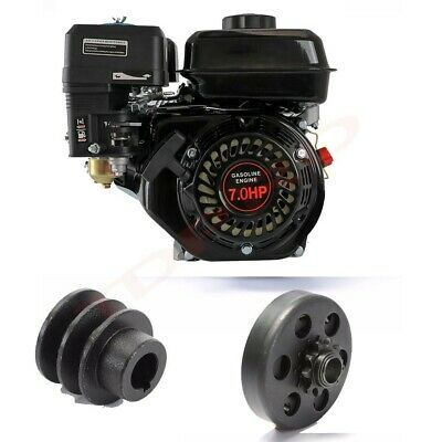 AU299.99 • Buy For Honda GX160 Petrol Engine Motor 7.5HP 210cc OHV Horizontal 20mm Shaft Clutch