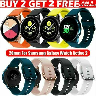 AU11.99 • Buy For Samsung Galaxy Watch Active 2 40/44mm Silicone Sport Wrist Band Strap Loop