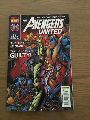 The Avengers United Issue 19 • 2.50£