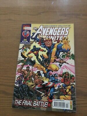 The Avengers United Issue 20 • 2.50£
