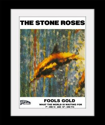 £15.99 • Buy STONE ROSES Fools Gold  Indie  Print Mounted Or Framed FREE POSTAGE Ref233