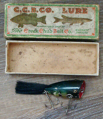 $ CDN66.67 • Buy Vintage C. C. B. Co. Plunking Dinger #6200 Wood Fishing Lure In Unmarked Box!