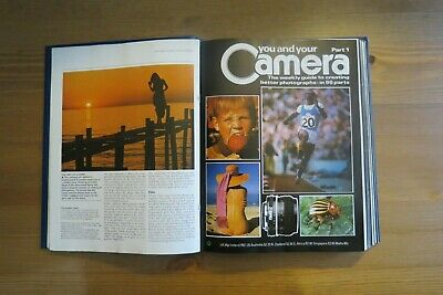Vintage YOU AND YOUR CAMERA Magazine Vol 1 - 1 To12 - 1985 Retro Photography • 9.99£