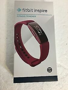 $ CDN57.99 • Buy Fitbit Inspire Fitness Tracker, One Size (S And L Bands Included)  Sangria