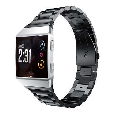 AU18.99 • Buy NEW Replace Watch Band  For Fitbit Ionic Stainless Steel Clasp Wrist Bracelet