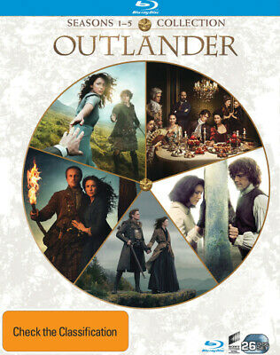 AU182.99 • Buy Outlander: Seasons 1 - 5 (2014) [new Bluray]