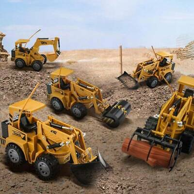 RC Excavator Remote Control Digger Truck Toy Car 1:24 Xmas Gift For Kid/Children • 11.79£