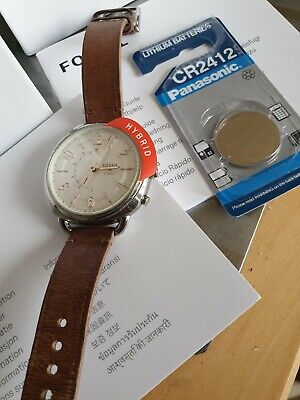 View Details Fossil Leather Watch Q Accomplice Hybrid Smartwatch • 40.00£
