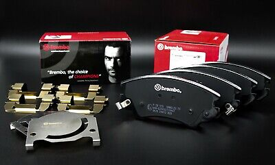 P59055 Brembo Front Brake Pads Set Comp. With Vauxhall Astra Insigna Zafira • 34.85£