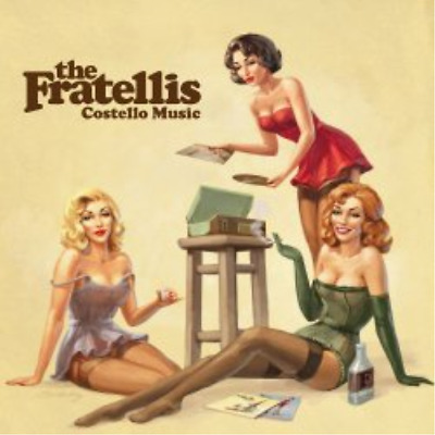 The Fratellis-Costello Music CD NEW • 4.71£
