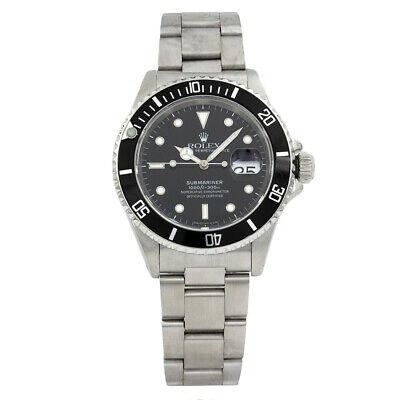 $ CDN10689.06 • Buy Rolex Submariner Stainless Steel # 16610 | He