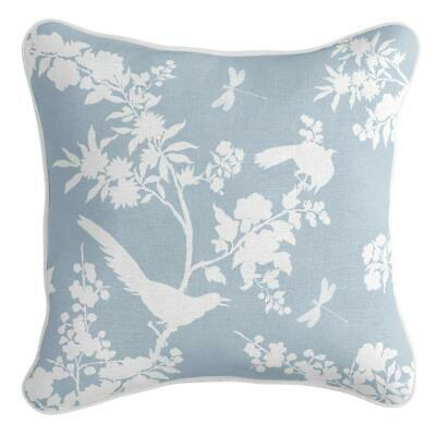 AU51.95 • Buy Louis - Premium Cushion Cover | Quality Indoor Outdoor Chinoiserie Duck Egg Blue