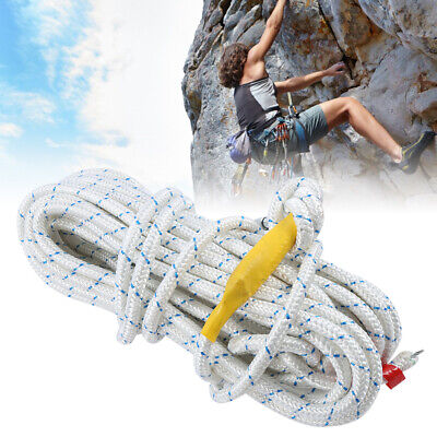16.4ft 0.4in Survival Safety Auxiliary Rope Cord For Mountaineering Fire Escape • 13.90£