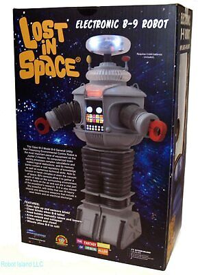 AU114 • Buy LOST IN SPACE B9 ELECTRONIC Robot 10 Inch Lights And Sounds  DIAMOND SELECT
