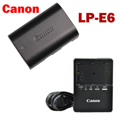 Canon LP-E6 Battery For Camera EOS 5D Mark II III EOS 7D 60D 6D 70D With Charger • 22.99£