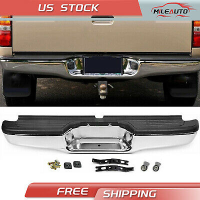 $155.98 • Buy Complete Rear Step Bumper Stainless Steel For 95-04 Toyota Tacoma Pickup Truck