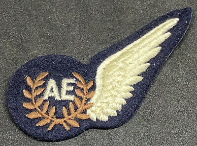 RAF Air Electronics Operator Embroidered Uniform Brevet Patch • 12.95£