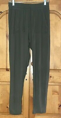 $14.99 • Buy Freestyle Revolution Womens Drawstring/Elastic Waist Pants Sz M  Khaki Green