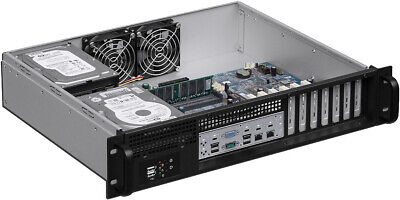 $ CDN171.30 • Buy 2U Front Access(24in)ATX(2x3.5 +4x2.5 HDD)(Rackmount Chassis)(D13.78  Case)NEW
