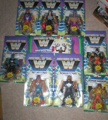 $225.25 • Buy Wwe Masters Of The Universe, 8 Wwe Figures,  And,  Ring, All Unopened