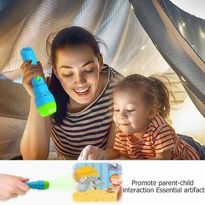 Mini Projector Flashlight Torch Educational Light-up Toys For Children Kids • 10.08£