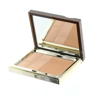Clarins Medium Bronzer Bronzing Duo Mineral Compact Powder 02 Medium Brand New • 29.45£