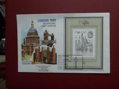 GUERNSEY  First Day Cover LONDON 1980 • 0.20£