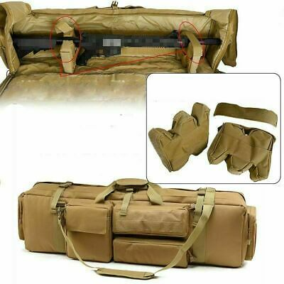 Tactical Bag Airsoft Military Hunting Rifle Backpack Outdoor Fishing Case Bag • 65.99£
