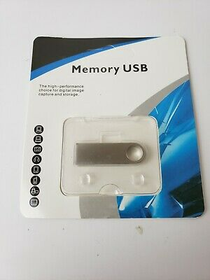 $ CDN13.18 • Buy 2 TB Metal USB Flash Drive Memory Stick. Plug And Play Supports Windows/Mac OS