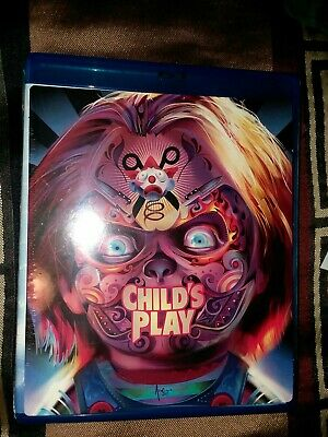 Child's Play (1988, Blu-Ray) W/ Collector's Art Brand NEW, Sealed - Brad Dourif • 3.57£