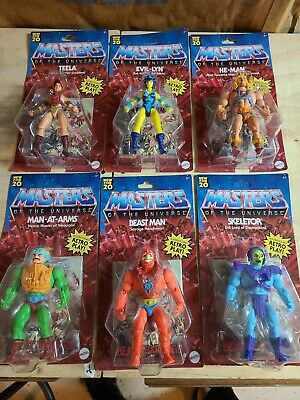 $125 • Buy Masters Of The Universe Origins 2020 He-Man Wave 1 Lot Of 6 Walmart Exclusive