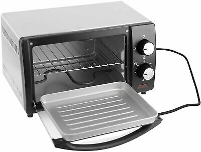 Mini Toaster Electric Oven Bake Kitchen Compact Table Top Timer • 49.95£