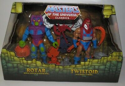 $59.99 • Buy MOTUC Masters Of The Universe Classics Rotar And Twistoid W/ Mailer MISB MOC