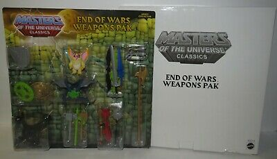 $42.99 • Buy Masters Of The Universe Classics: End Of Wars Weapons Pak W Mailer By Mattel