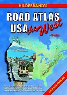 Hildebrand's Road Atlas USA, The West (USA & Can... | Book | Condition Very Good • 16.21£