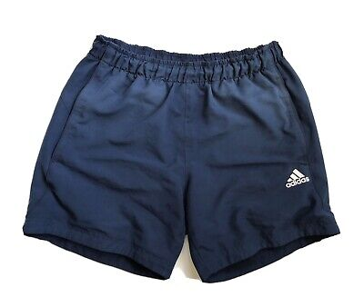 AU18 • Buy Adidas Sports Essential Men Shorts Climalite Navy Blue Size Small