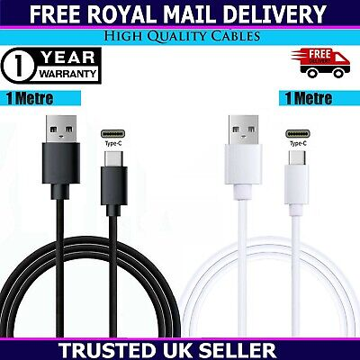 £1.99 • Buy Charging Cable For Samsung S8 S9 S10+ S20+ S21+ Type C USB-C Charger Data Lead