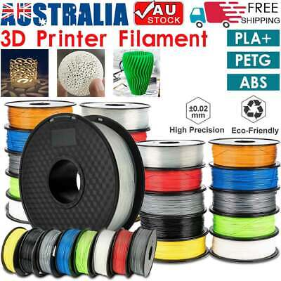 AU15.50 • Buy 3D Printer Filament Highly-Accuracy PLA+ ABS PETG 1.75mm 1Kg/Roll Printing AU