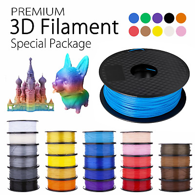 AU25.09 • Buy 3D Printer Filament PETG PLA+ ABS Highly-Accuracy 1.75mm 1Kg/Roll Printing AU