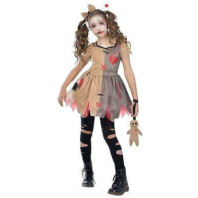 £11.99 • Buy Kids Girls Voodoo Rag Doll Costume Halloween Witch Doctor Fancy Dress Outfit