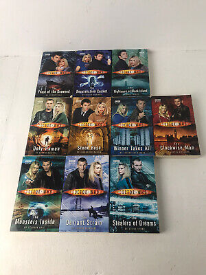 Doctor Who 10 Book Complete Box Set Only Human Stone Rose Paperback Books • 11£