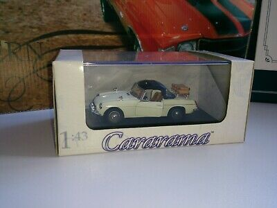 Mgb Cararama -convertible 1/43 Scale Diecast Model In White • 6.50£
