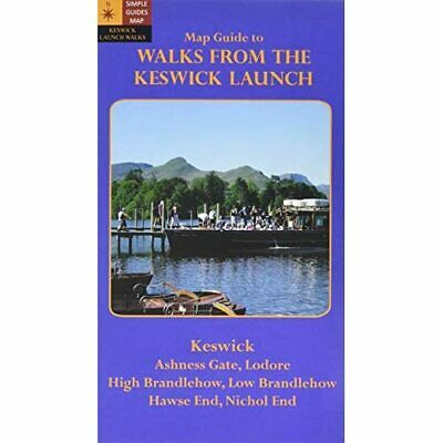 Walks From The Keswick Launch. Map Guide - HardBack NEW David Watson 10/02/2012 • 5.80£