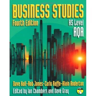 Business Studies For AQA: AS Level - Paperback NEW Jones, Rob 2008-05-08 • 39.98£