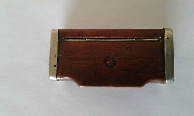 £25 • Buy Antique Inlaid Superb Quality Wooden Snuff Box - Shuts Tight & No Damage = Treen