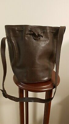 AU50 • Buy Oroton Drawstring Leather Bag Brown