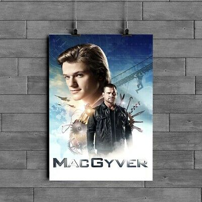 $12.49 • Buy MacGyver ,TV Series Poster Glossy 240gsm Size A1 A2 A3 A4 Framed& Unframed