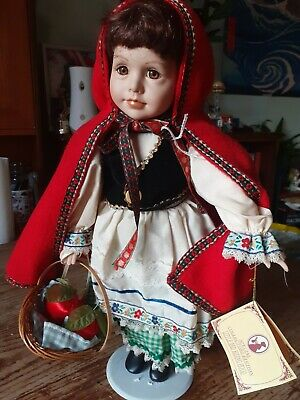 Little Red Riding Hood. Regency Fine Arts Doll. Collectors Edition. • 3£